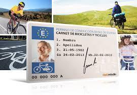 carnet de conducir bicicletas en Barcelona